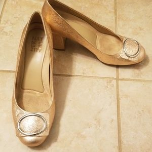 Naturalizer Wright Pumps size 8.5 Rose Gold